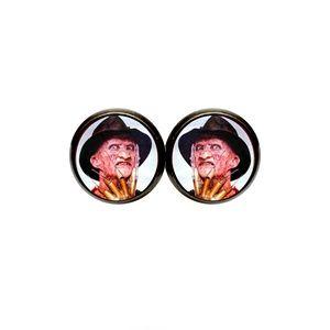 Freddy Krueger Earrings - Halloween, Horror